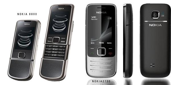 NOKIAの通話専用機の画像…